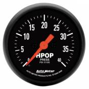 Auto Meter - 03-07 Ford 6.0L - Z-Series - 03-07 Ford 6.0L - Auto Meter Gauges - Auto Meter Z-Series Diesel HPOP Pressure