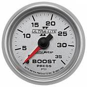 Dodge - 2007 - 2018 6.7L Dodge Cummins - Auto Meter Gauges - Auto Meter Ultra-Lite II Boost 0-35psi