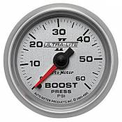 Dodge - 2007 - 2018 6.7L Dodge Cummins - Auto Meter Gauges - Auto Meter Ultra-Lite II Boost 0-60psi