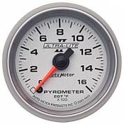 Ford - 2003 - 2007 6.0L Ford Power Stroke - Auto Meter Gauges - Auto Meter Ultra-Lite II Pyrometer