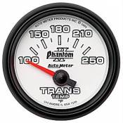 Auto Meter - 89-93 Ford 6.9L 7.3L IDI - Phantom II Series - 89-93 Ford 6.9L 7.3L IDI - Auto Meter Gauges - Auto Meter Phantom II Transmission Temp