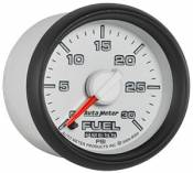 Auto Meter - 03-07 Dodge 5.9L - Factory Match 3rd Gen - 03-07 Dodge 5.9L - Auto Meter Gauges - Fuel Pressure Gauge - 30psi - Factory Matched 02-09 RAM