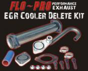 2003 - 2007 6.0L Ford Power Stroke - EGR Coolers and Cooler Delete Kits - Flo Pro Performance Exhaust - Flo-Pro - EGR Cooler Delete - 03-07 Ford 6.0L