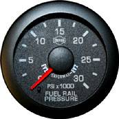 Isspro Gauges - Isspro EV2 Fuel Rail Pressure Gauge