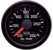 Dodge - 1998 - 2002 5.9L Dodge 24 Valve - Isspro Gauges - Isspro EVA Oil Temperature Gauge