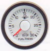 Isspro Gauges - Isspro EVM Fuel Pressure Gauge 30 psi