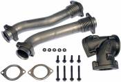 Turbochargers - 98-03 Ford 7.3L - Turbocharger Accessories - 98-03 Ford 7.3L - Dorman - Dorman Turbo UpPipe Kit - 1999.5 - 2003 Ford 7.3L Power Stroke