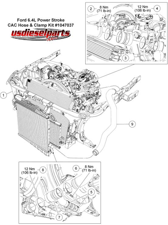Ford    6 0 Diesel Parts    Diagram     ImageResizerToolCom